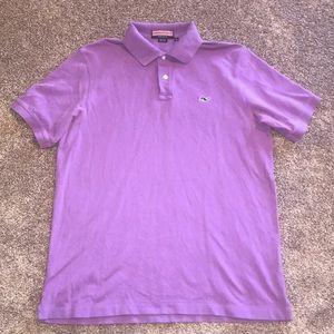 Vineyard Vines Purple Polo